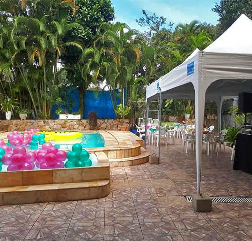Aluguel de Casa com Piscina em Santos para Festas